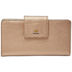 Rose Gold Fossil Wallet